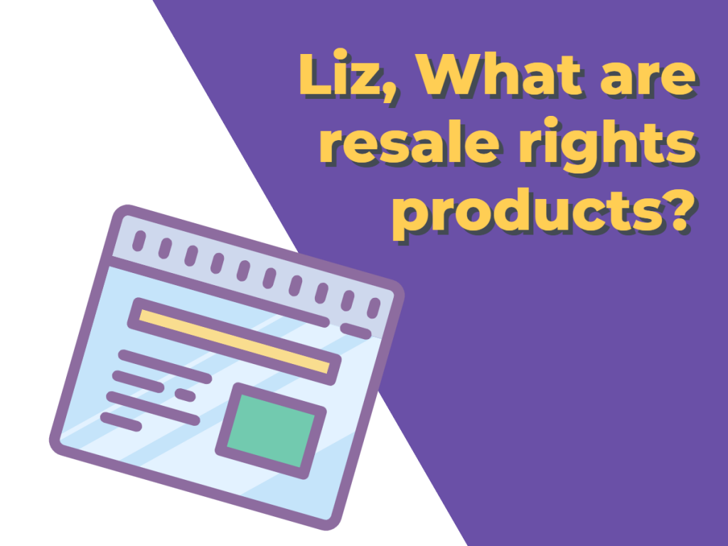 What Are Resale Rights Products?